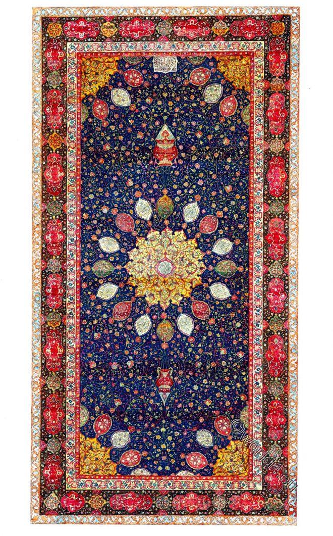 Ardabil, Holy, Carpet, Ardebil, Iran,