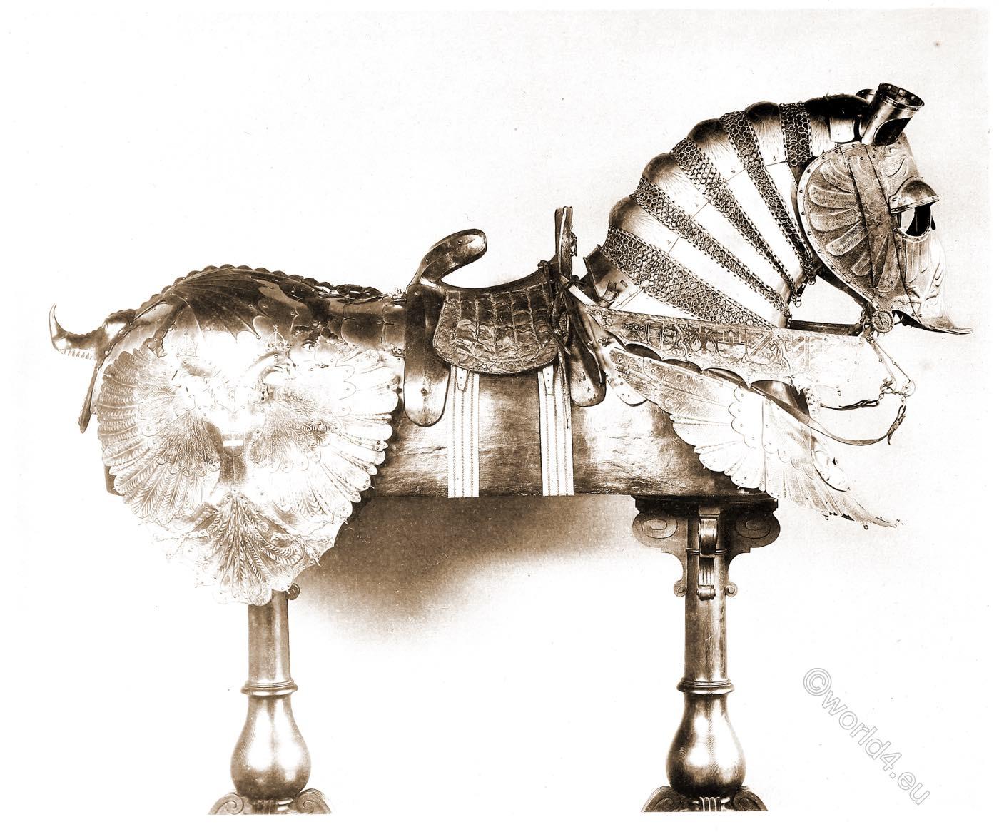 horse, armor, renaissance, Emperor Maximilian