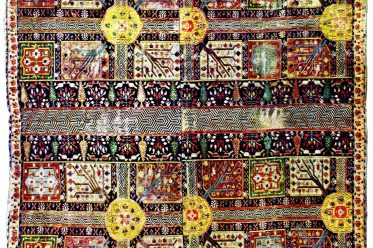 Persian, Royal, Garden, Carpet, Art, Ancient,