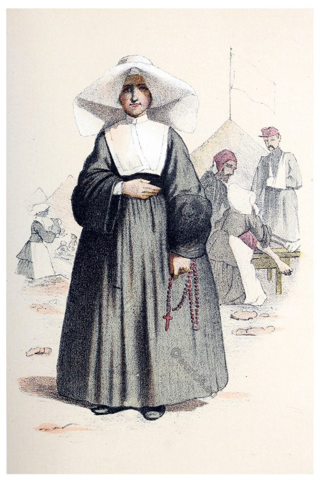 Sisters, Charity, Nuns, habit, clothing,