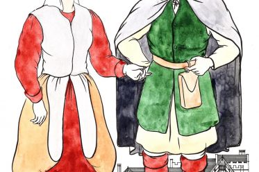 Henry VIII, peasant, clothing, tudor, dress,