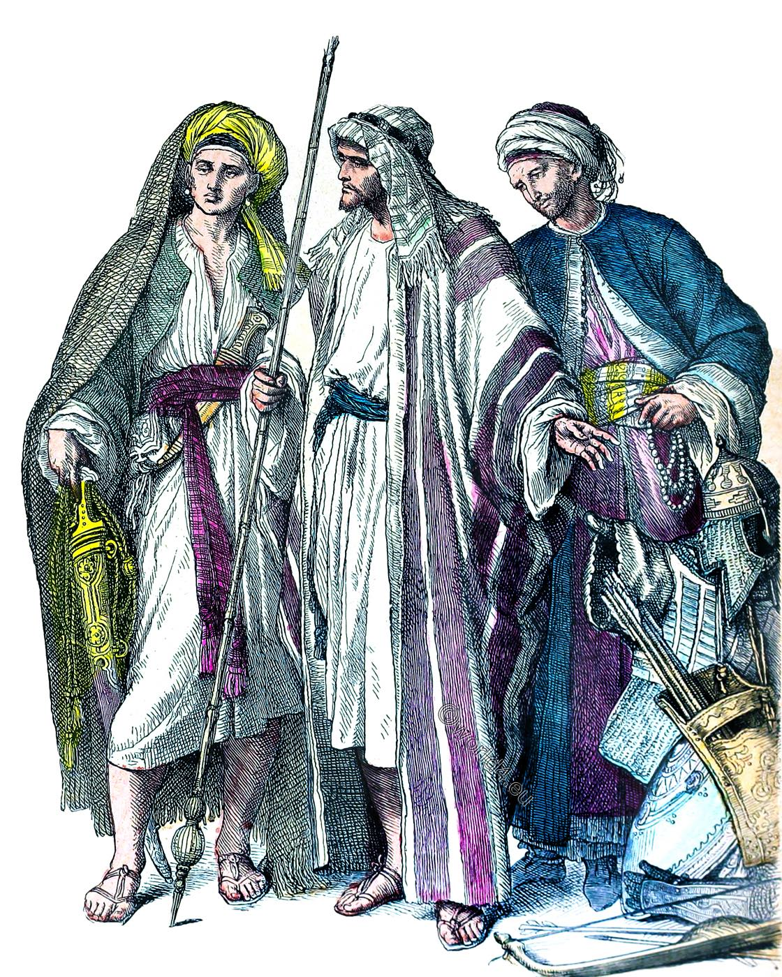 Arabs, Clothing, Middle East, dress, 4th, 6th, century