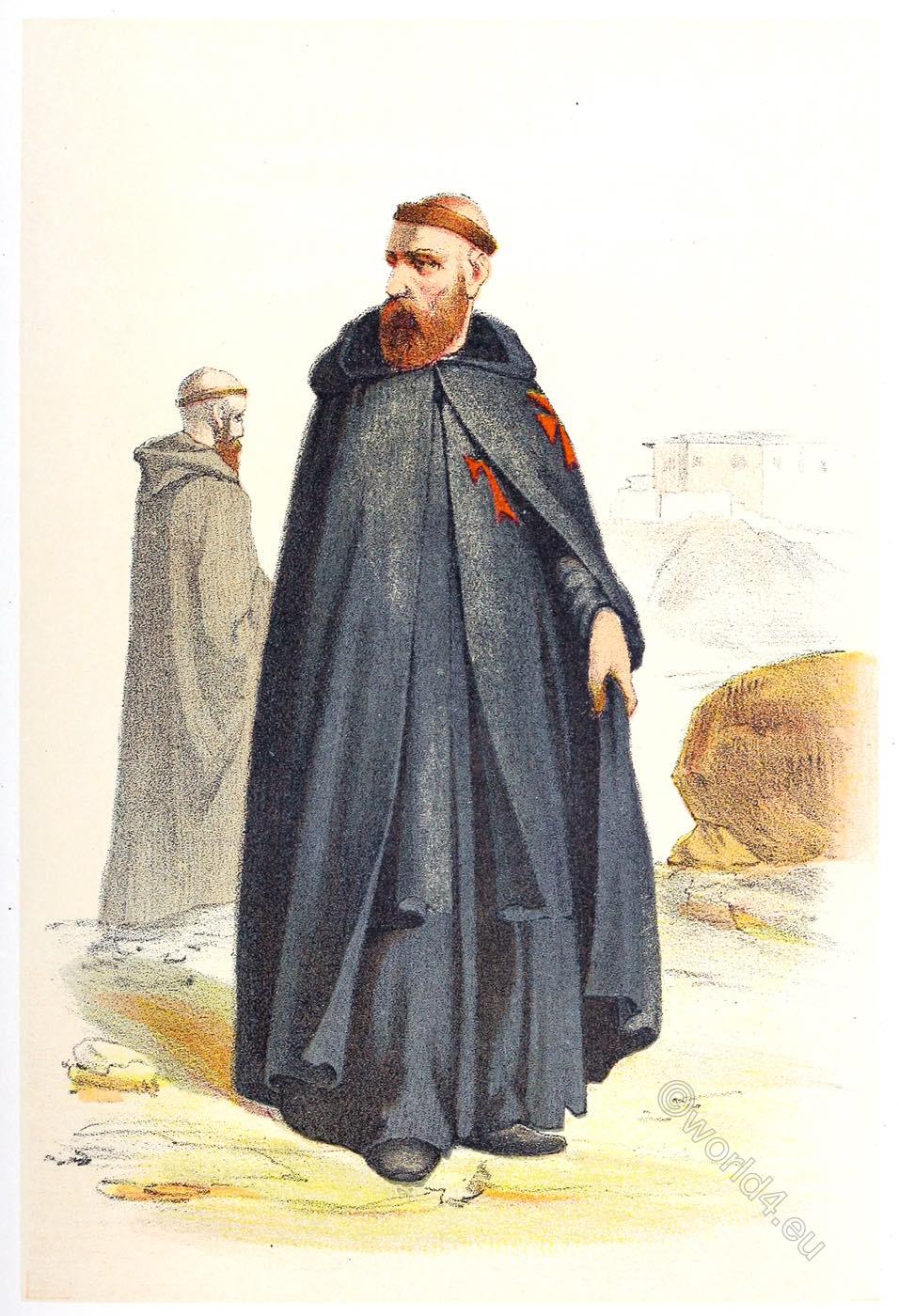 Armenian, monks, Basil, monastic, order, habit,
