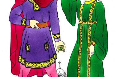 Costumes, Byzantine, Middle Class, Fashion, history