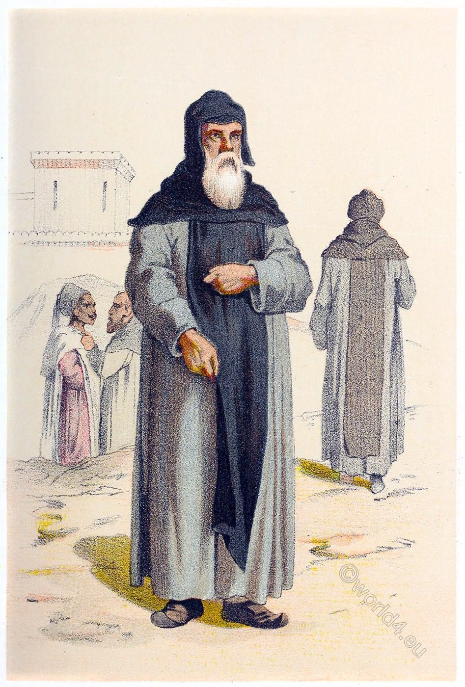 Coptic, Monks, habit, Order, Basilian, basil,