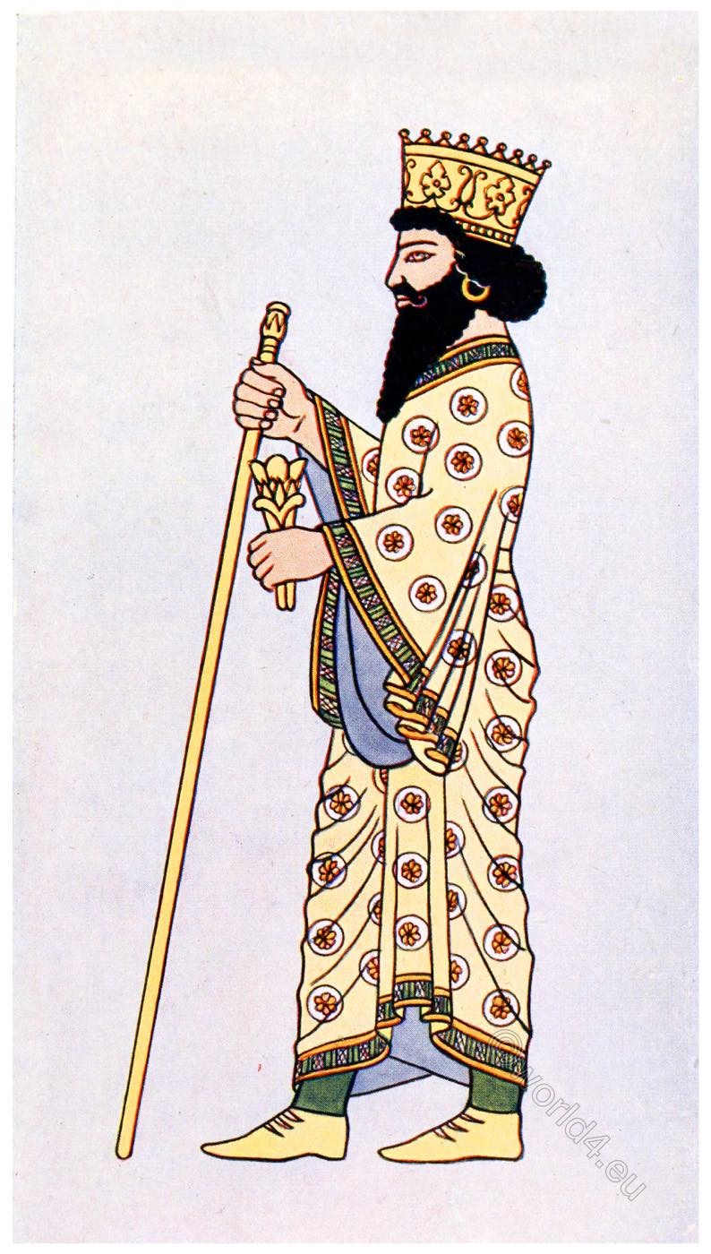Darius, King, Persia, Ancient, Costume, dress,