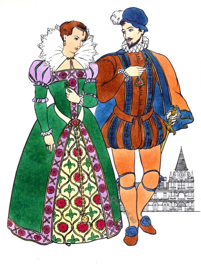 Elizabethan, clothes, fashion, renaissance, costumes