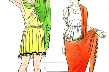 Greek, doric, costumes, ancient, Greece, Dress