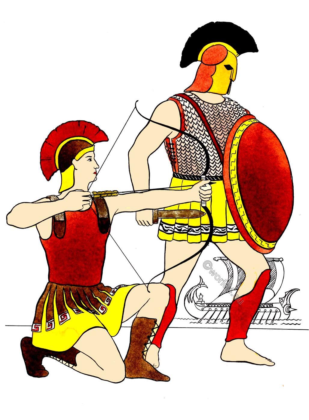 Greek, Military, warriors., warrior, armor,