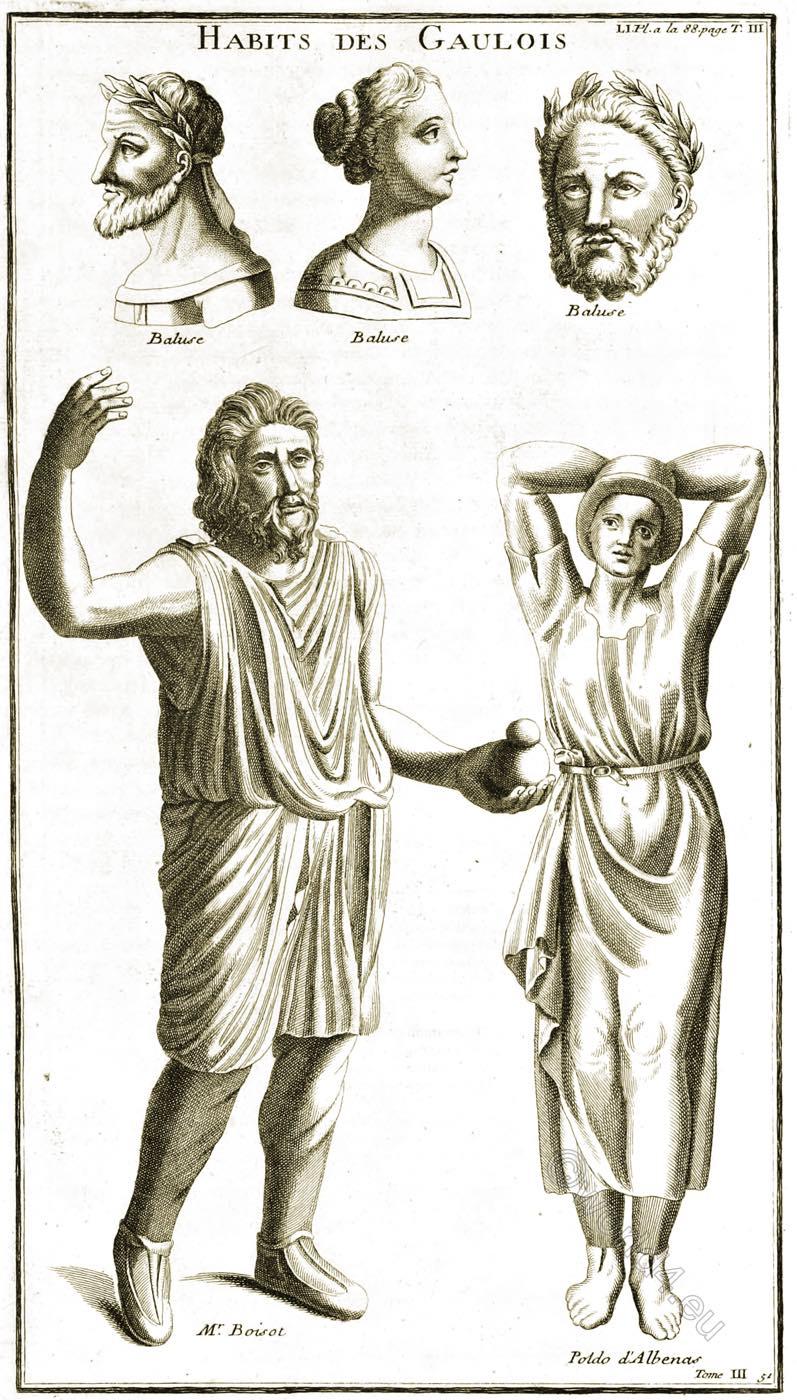 Gauls, Habits, Gaulois,