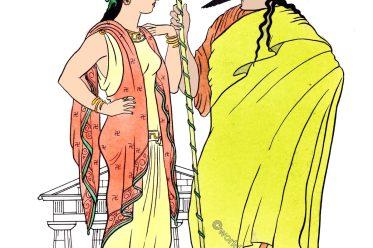 Greek, Homeric, Dress, ancient Greece,