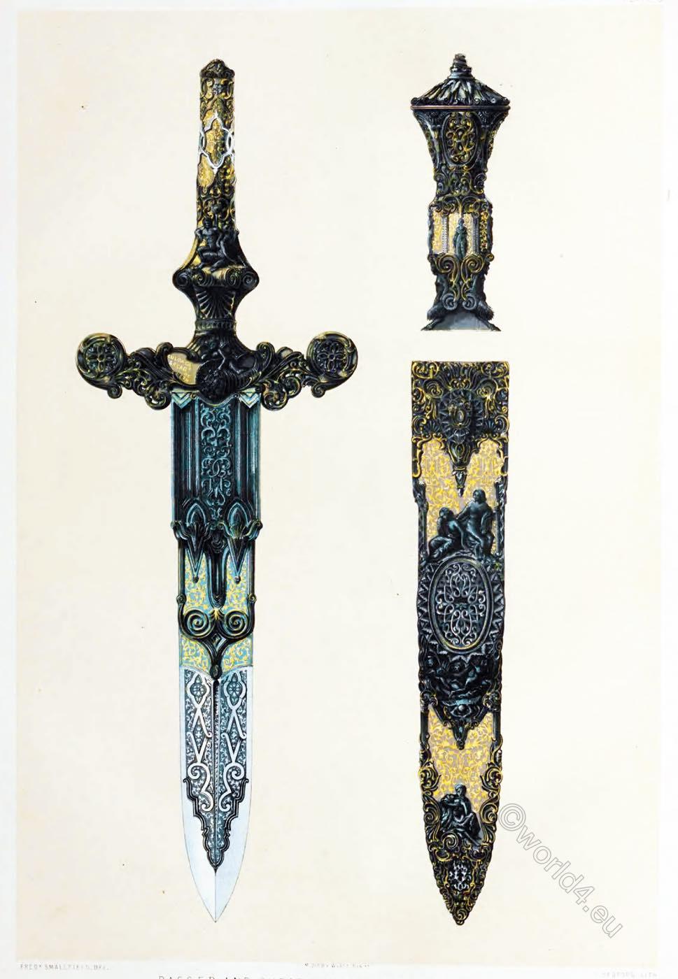 Hunting Knife, Eusebio Zuloaga, gunmaker, Royal Armory, Spain,