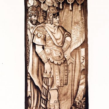Ffoulke collection, Flanders, tapestry, lictor, roman, costume,