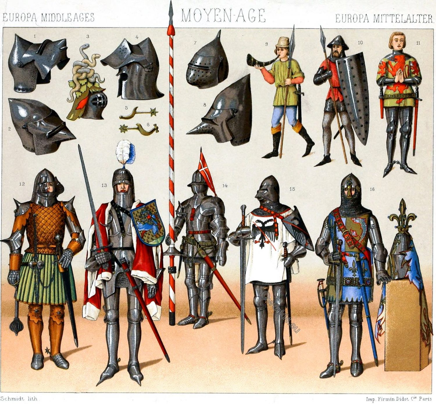 Knighthood, Middle ages, War, Armaments