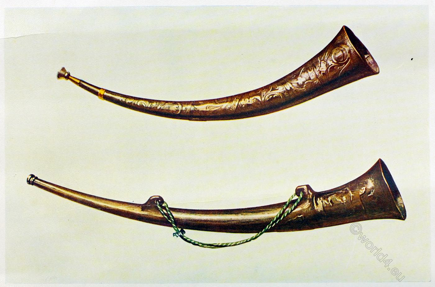 Burgamote, Horns, Canterbury, England, Dover, musical, instruments, middle ages,