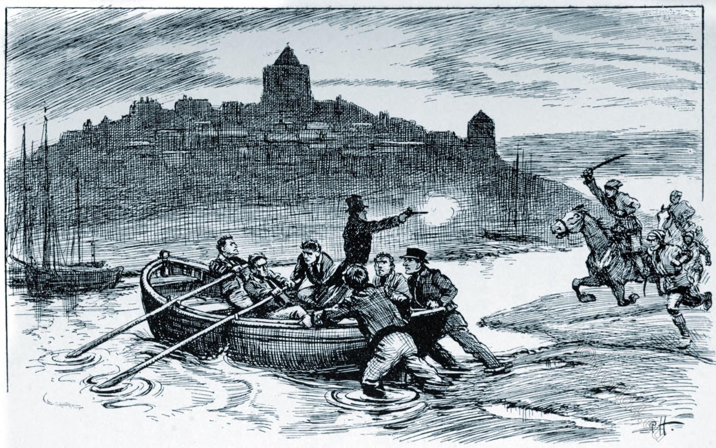 owlers, Rye, Romney, Marsh, Kent, East Sussex, smugglers, England,