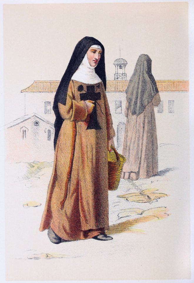 Habit, dress, Franciscan, Nuns, Third, Order, St, Francis