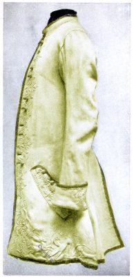 Buckskin, Rococo Hunting, coat,