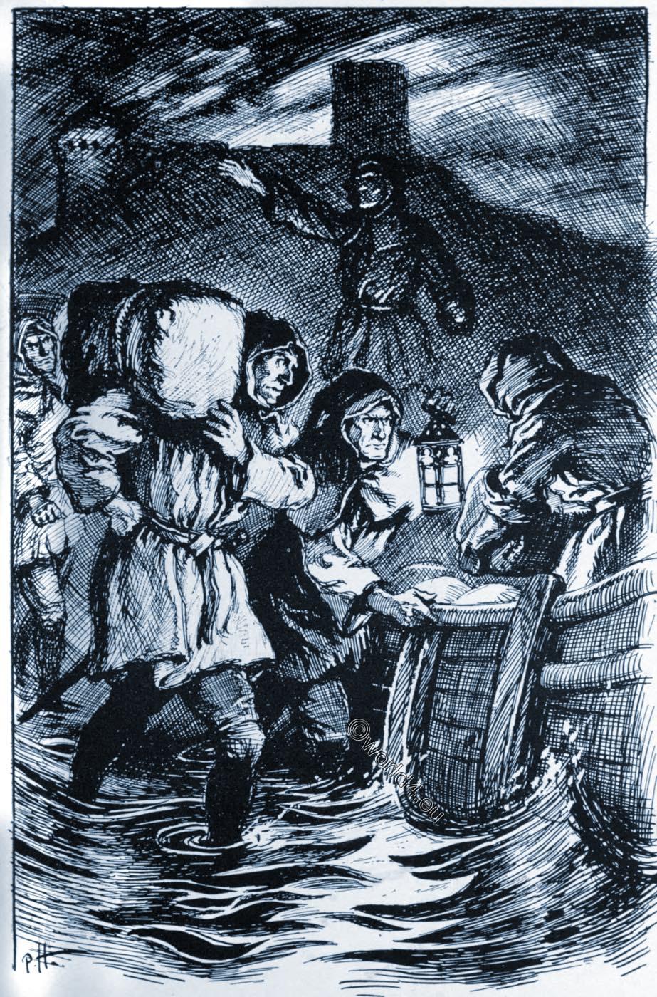 Romney, Marsh, Kent, East Sussex, Owlers, smugglers, England,