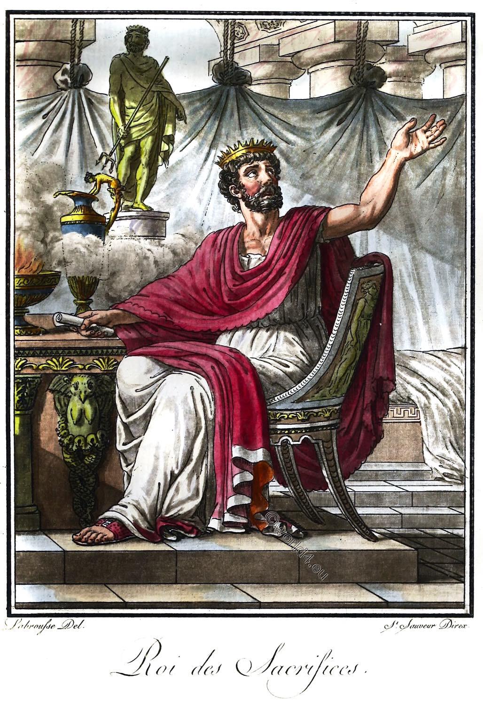 Rex Sacrificulus, Sacrorum, Roman, priest,