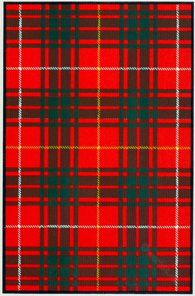 Tartan, Robert Bruce, Scottish, king