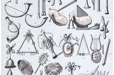 Rome, Musical, instruments, Ancient,