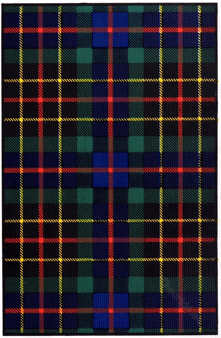 Clan, Brodie, Scottish, Pattern, Scotland,