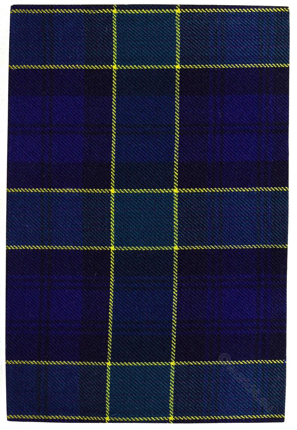 Tartan, Clan, Campbell, Breadalbane, Scottish, Pattern, Scotland,