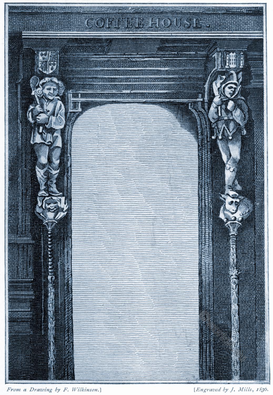 Doorway, King, John's, Tavern, Exeter, England