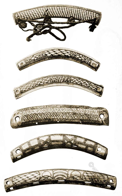 Carved, reindeer-horn, bag-locks, sami, lapland, crafts,
