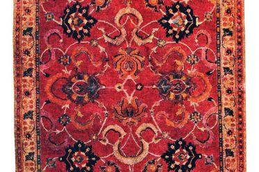 India, 17th century, Rug, Carpet, Indo-Persian, Ballard Collection,