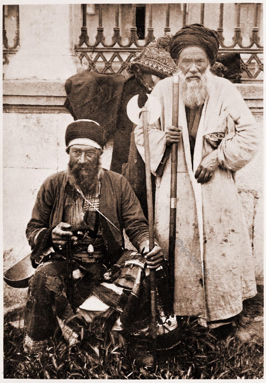 Begging dervish, islamic, Sufi, order, night watchman