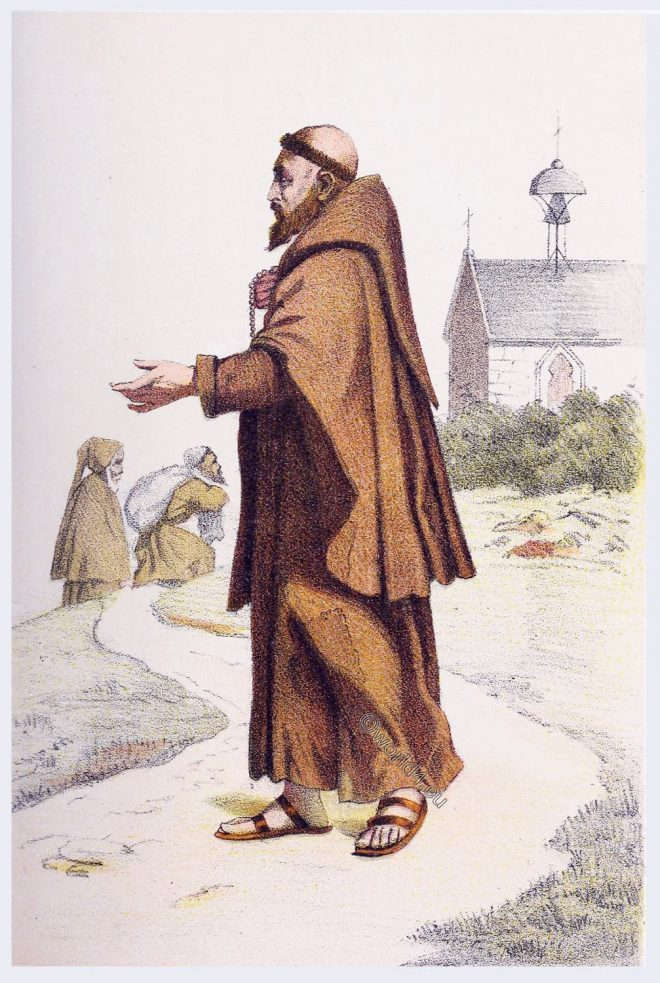 Capuchin, Friars, habit, Monastic, order