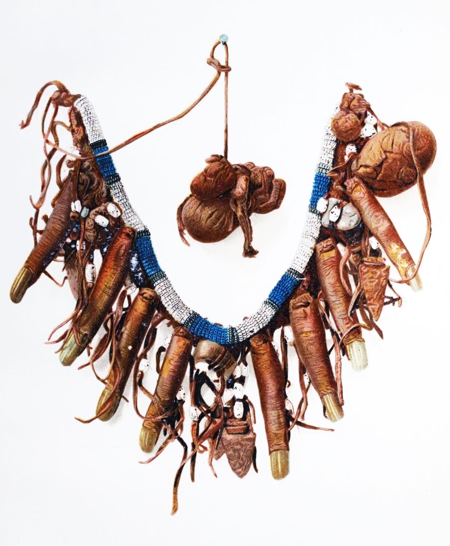 Cheyenne, Medicine, Man, Necklace, Human, Fingers,