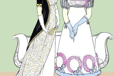 Regency, Empire, party, dresses, wardrobe, evening, costumes,