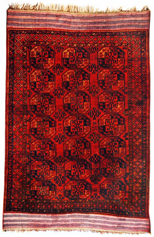 Filpa, Fil-pa, Carpet, Antique, Afghan, Turkoman, Rug,