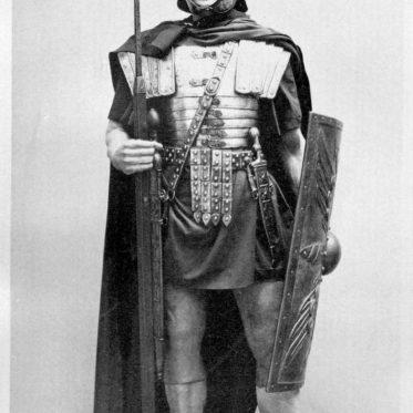 Roman, legionary, armament, reconstructed,