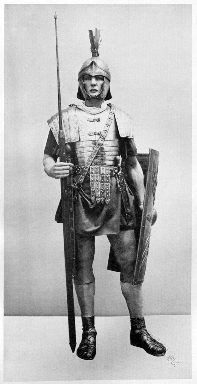 soldier, infantry, roman, empire,  legionary, armament, reconstructed, ancient soldier,