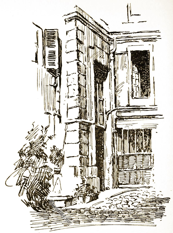 Ninon de Lenclos, Rue des Tournelles, Paris