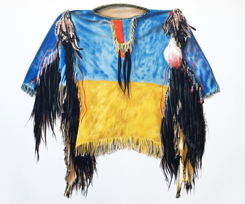Scalp, Shirt, Lakota Oglala-Sioux, first nation,
