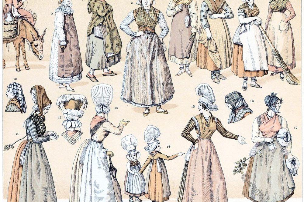 France, Bordeaux, Folk, costumes,