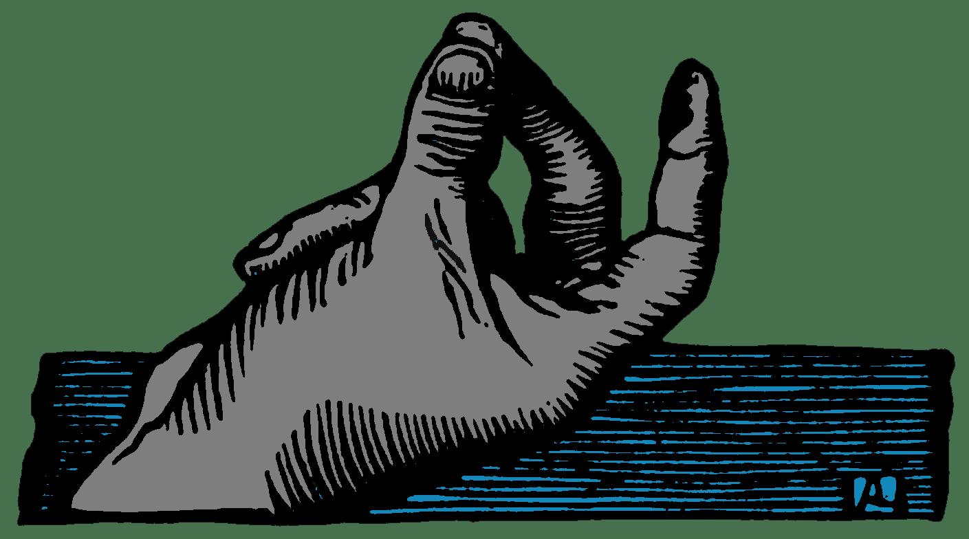 Allen Lewis, Illustration, Hand, Vector, comicm