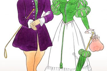 Romantic, regency, empire, fashion, costumes, riding, habit,