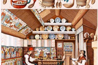 Ryggastuga, sweden, dwelling house, Interior, farmhouse, grass roof,