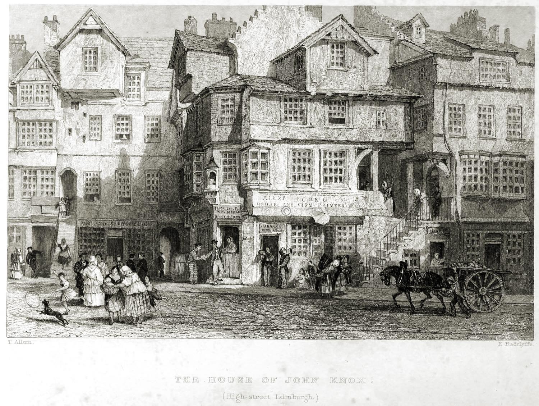 John Knox, House, Edinburgh,