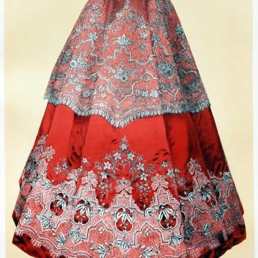 point, d'Alençon, Embroidered mantle, cape , victorian, France,
