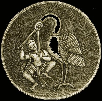 hindu, bird, Illustration