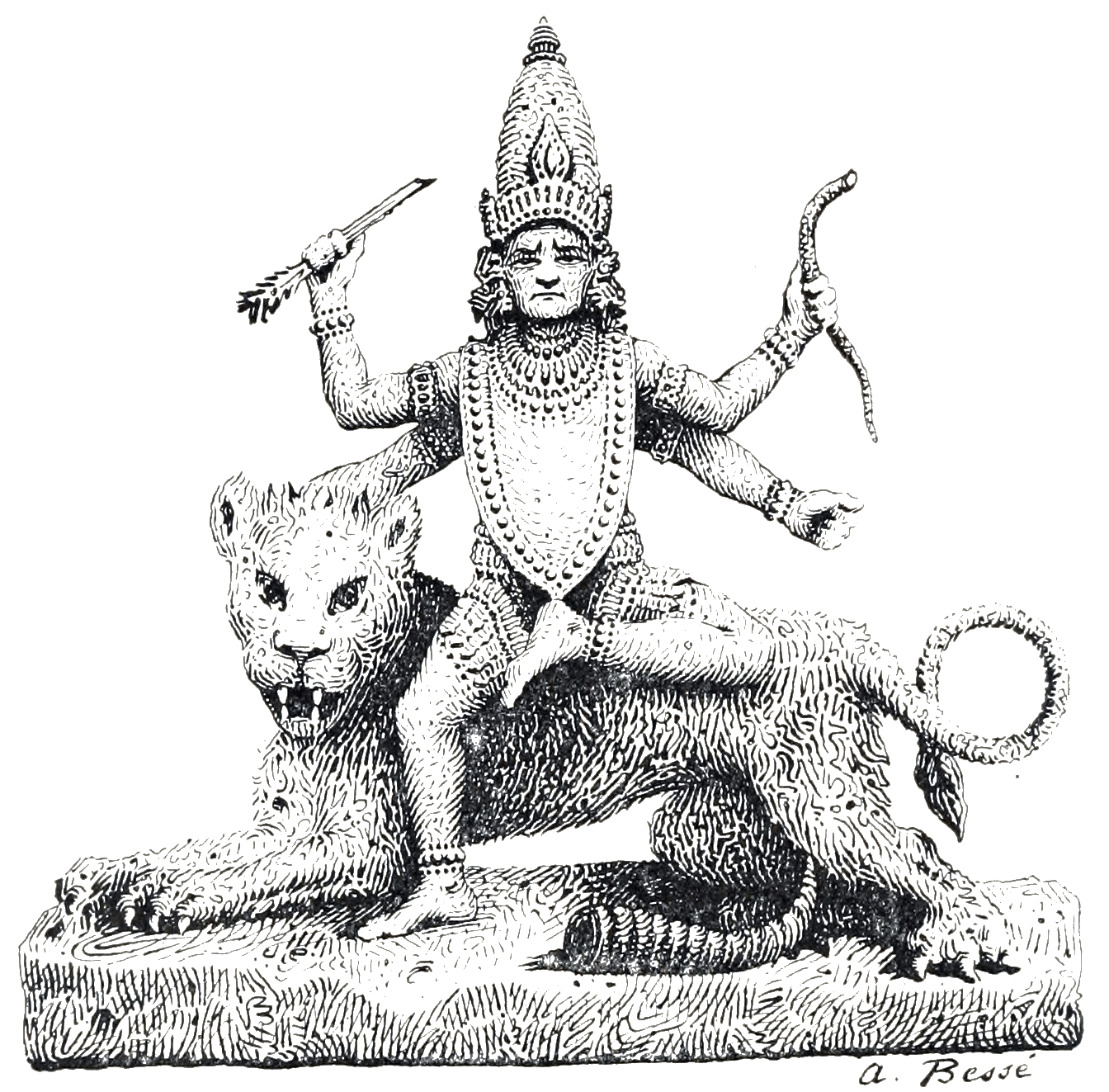 india, kali, goddess, hindu, Illustration,