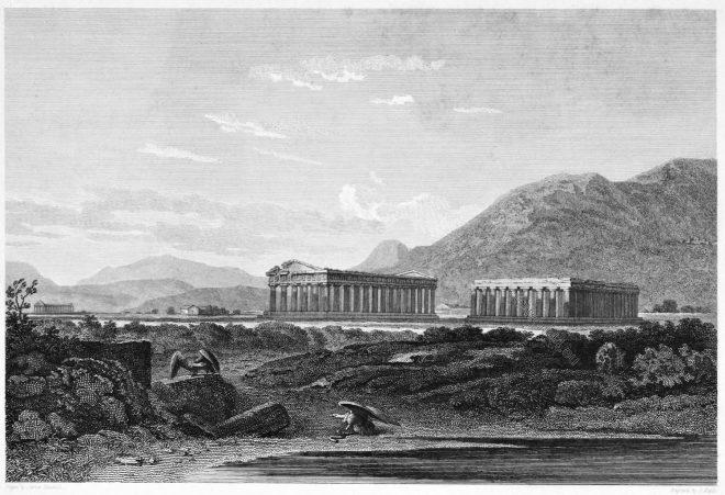 Temples, Paestum, Magna Graecia, Ancient, Architecture
