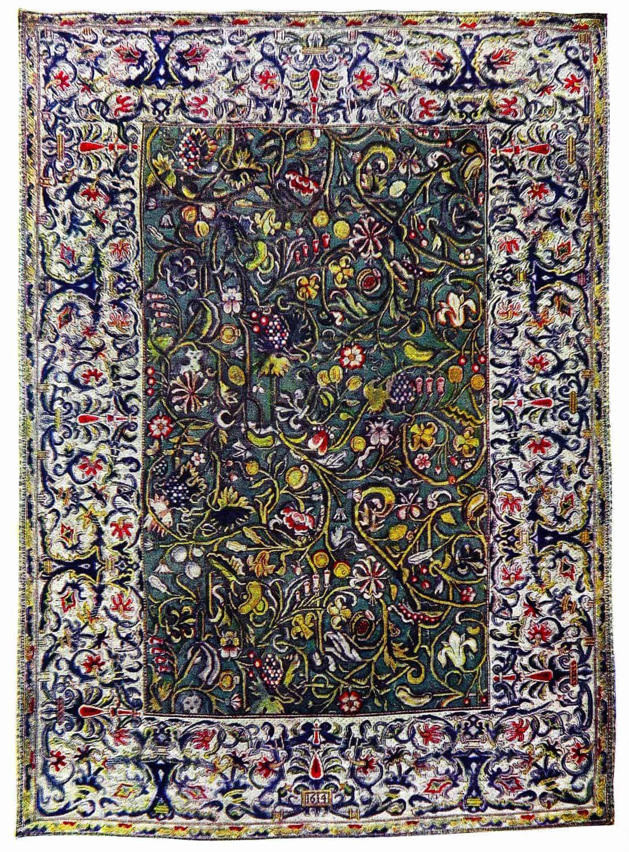 English, carpet, baroque, James I,